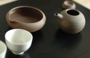 日本茶を入れる急須・湯冷まし・湯呑セット