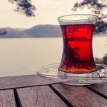 グラスに紅茶