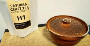 猿島紅茶、和紅茶と急須