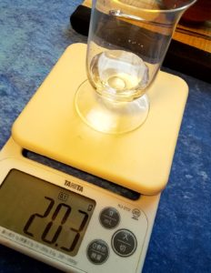玉露の入れ方紹介、氷出しに使う水の量