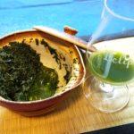 玉露を氷出しで2煎目を抽出。栗原製茶