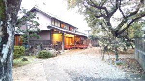 日本茶喫茶風さんの庭