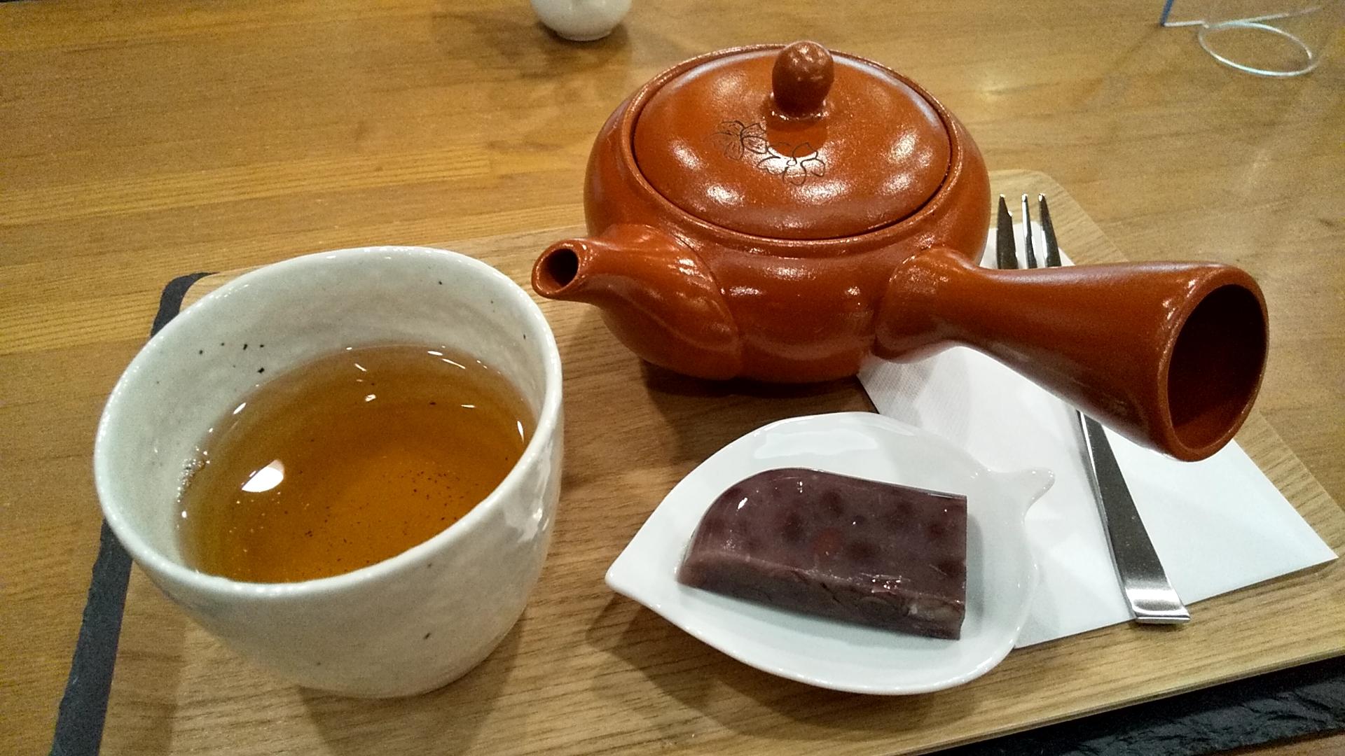 茶の湯cafe 銀河の船さん自家焙煎ほうじ茶