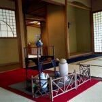 瓢月亭の茶室