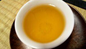 べにふうき緑茶の煮出し
