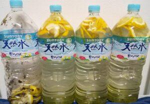 緑茶レモン2L×4